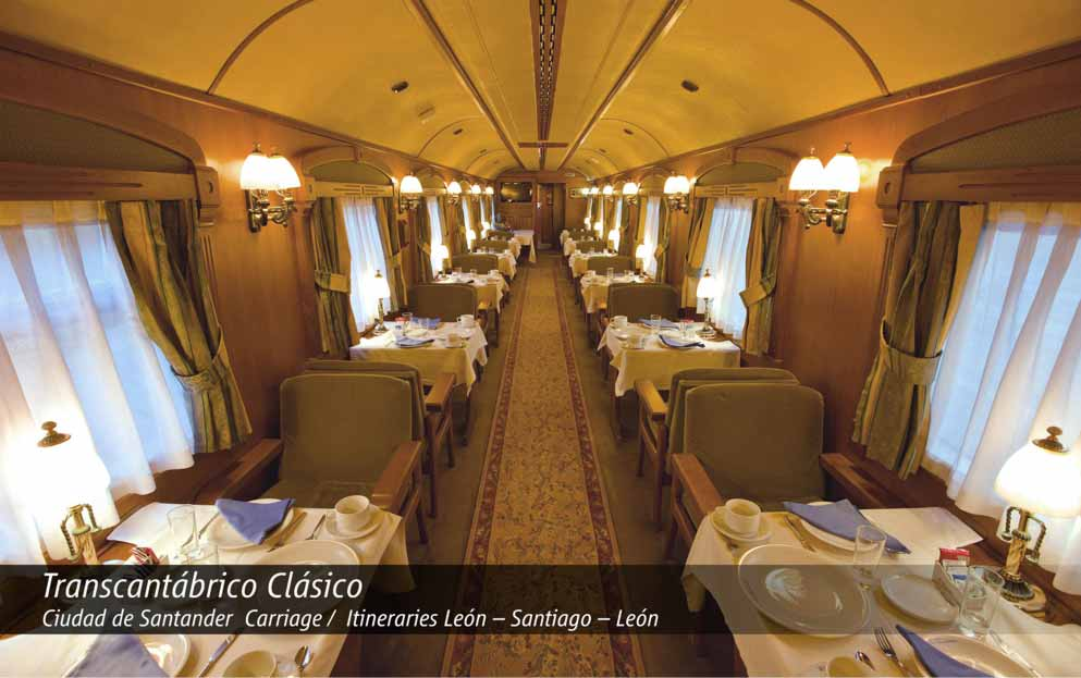 8 day El Transcantabrico Classico Carriage Rail tour