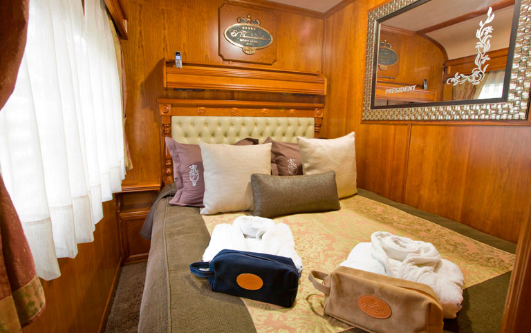 Luxury Train Travel Northern Spain 8 day El Transcantabrico Gran Lugo Cabin