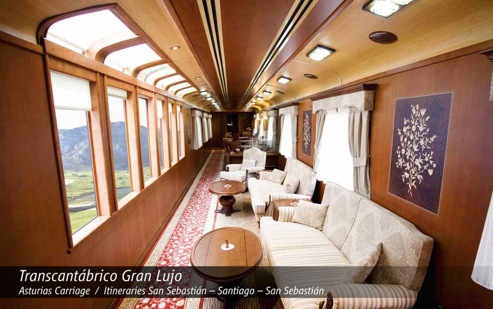 8 day El Transcantabrico Gran Lugo Carriage Asturias