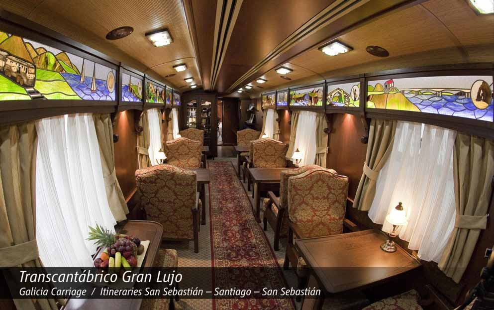 8 day El Transcantabrico Gran Lugo Carriage Galicia Luxury Train Tours Northern Spain