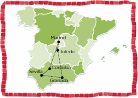 spain tour andalusia madrid toledo cordoba sevilla