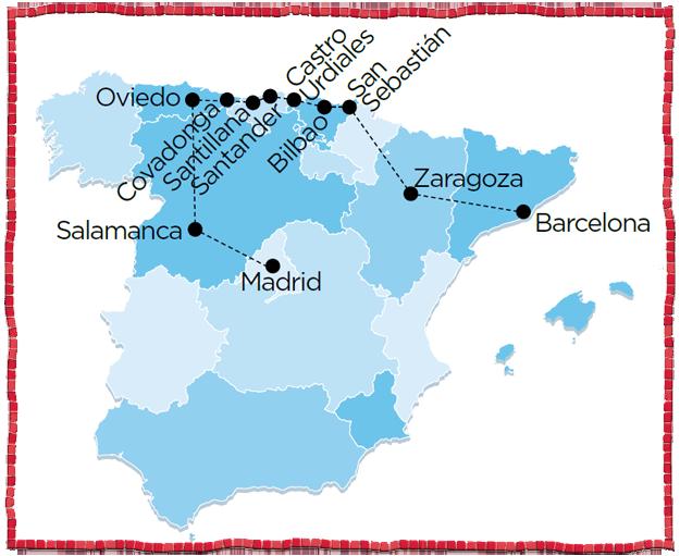 Northern Spain Tour Salamanca San Sebastian Bilbao