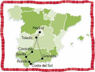 Costa del Sol Andalucia Spain Madrid Coach tour