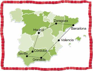 Spain Madrid barceolna coach tour