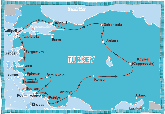 14 Day Magical Turkey Tour Small Group Regular Departures