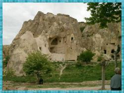Collapsed Chapel, Goreme.  Photo by Elaine Potter